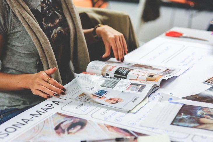 Magazine interactif